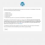 Install WordPress Introduction