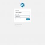 Install WordPress Login