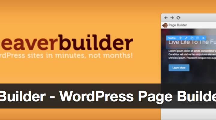 Design your WordPress using a Page Builder Plugin